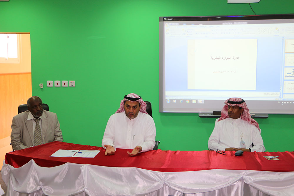 Training management held a number of courses for new employees